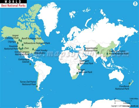 grand in world map the world s best national parks map most visited