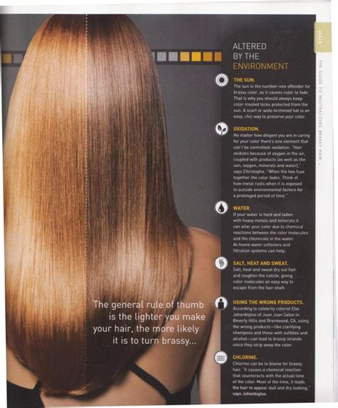 how to fix hair color causes of brassy hair color neil george