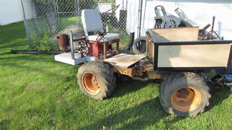 homemade tractor homemade articulating 4x4 tractor youtube