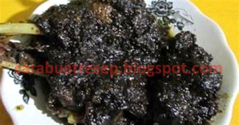 cara membuat martabak hitam cara membuat bebek goreng madura bumbu hitam resep