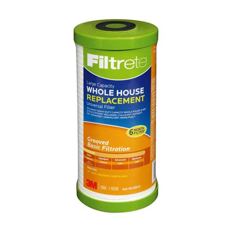 whole house water filter lowes shop filtrete whole house replacement filter at lowes com