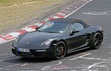 porsche readies new 981 2 boxster and cayman with 4