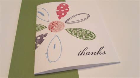how to make thank you card truly beautiful make a thank you card flower mesmerizing