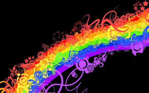 wallpapers: Geometry Rainbow Colours Wallpapers Graffiti Wallpaper Love Rainbow