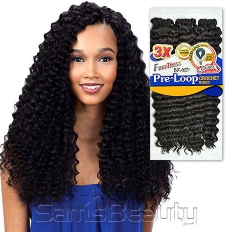 crochet braids using pre twist hair freetress synthetic hair braids 3x pre loop crochet braid