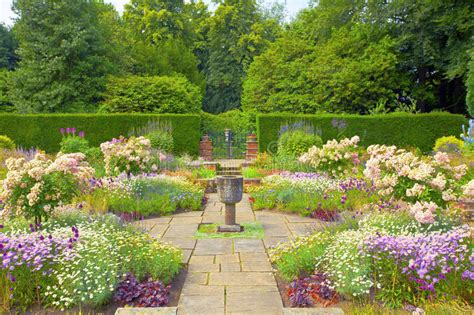 formal english garden stock image image  flagged
