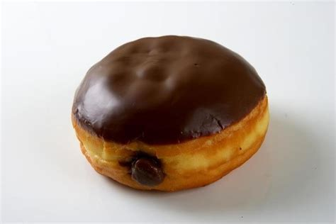 cream filled chocolate doughnuts recipe dishmaps