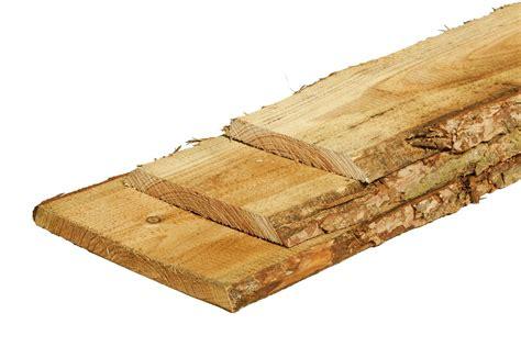 schaaldeel plank boomstlank 4 meter rustieke douglas tuinplank schaaldeel