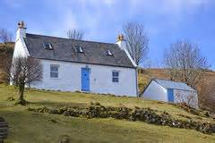 Crofters Cottages For Sale In Scotland by A Scottish Crofters Cottage Stock Photo Image 20777260