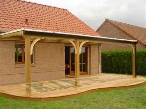 pergola terrasse pergolas en polycarbonate structure bois 16mm ou 32mm