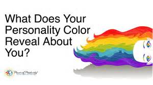 what color are you quiz what does your personality color reveal about you