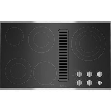 36 Inch Induction Cooktop With Downdraft by Jenn Air Downdraft Electric Cooktops