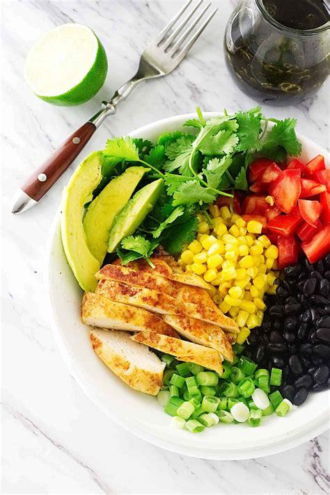 Salad Bowl southwestern chicken salad bowl savor the best