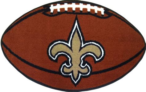 new orleans saints rug new orleans saints football rug nfl shaped accent floor mat