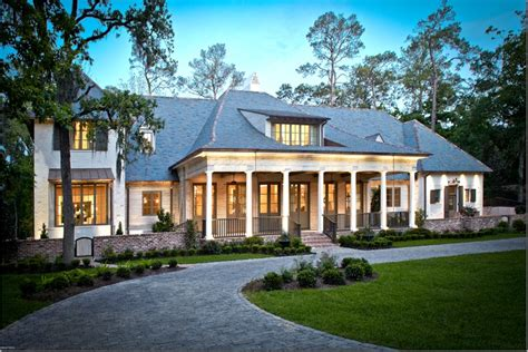 southern luxury house plans southern acadian style reminiscent of a hays town