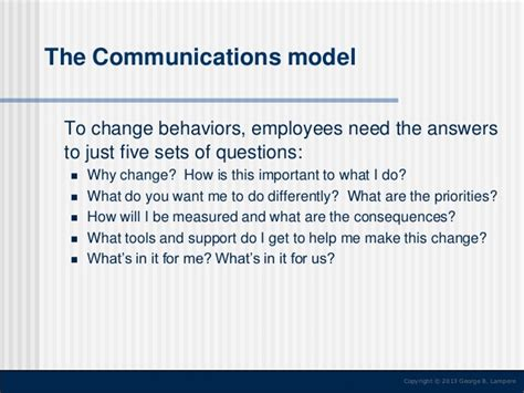 change communication template change communication strategy