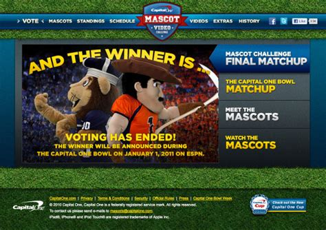 capital one bowl mascot challenge design projects clinton lugert a hybrid creative director