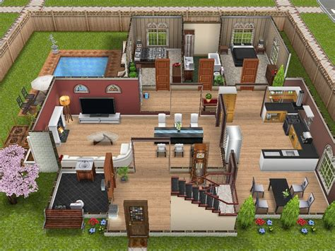 play home design story sims landing a sims freeplay town this two story house in the scenic sims landing simsss