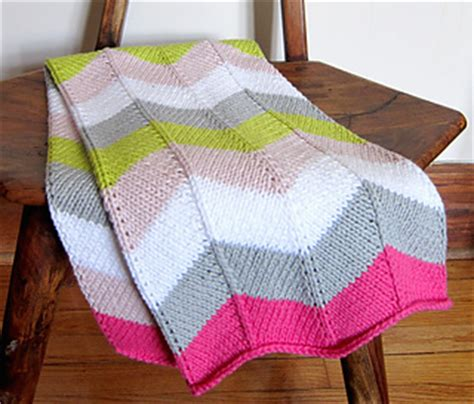 Ravelry Baby Blanket Patterns by Ravelry Chevron Baby Blanket Pattern By Espace Tricot