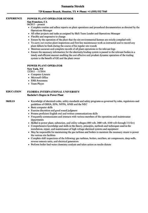 100 Wastewater Treatment Plant Operator Resume Low