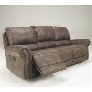 Fabric Reclining Sofa Furniture Oberson Fabric Reclining Power Sofa In Gunsmoke 7410087