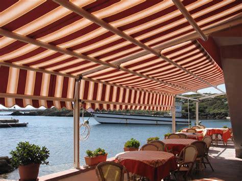 tende per ristoranti tende da sole per ristoranti alberghi bar sardegna