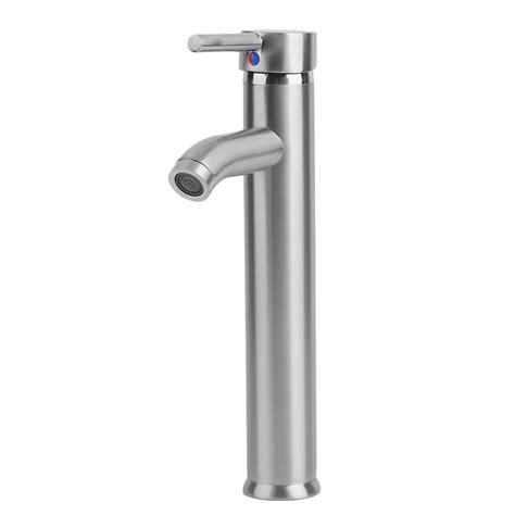 12 quot 30cm silver bathroom vessel sink faucet brushed