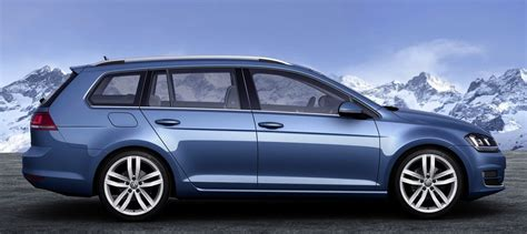 Volkswagen Golf Wagon Leaked Photos 1 Of 9