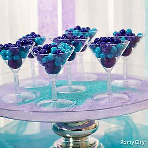 purple and blue candy buffet ideas bridal shower ideas