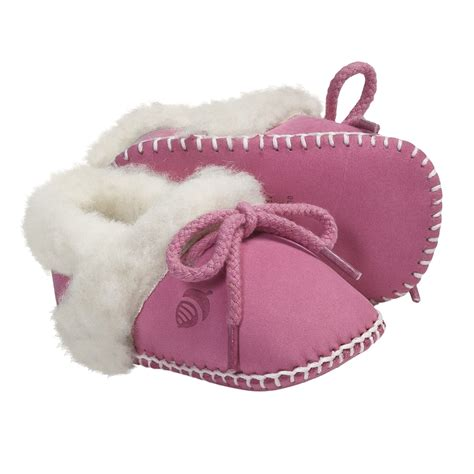 toddler sheepskin slippers acorn baby ewey moc slippers for toddlers 4968x save 71
