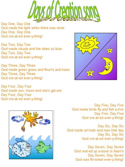 methodist coloring book lyrics 17 best images about mfw creation on free