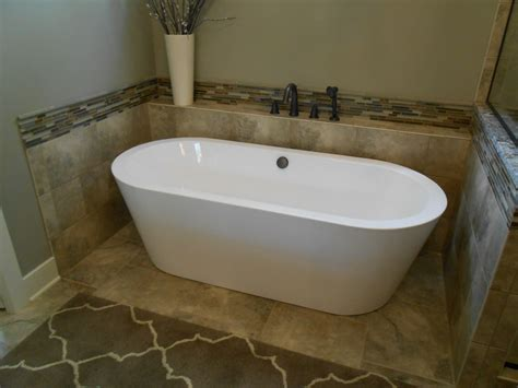 free bathtub free standing tub surround for the home pinterest