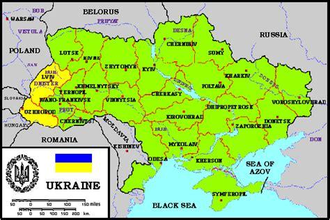 ua map maps of ukrainian oblasts