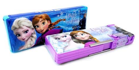 Kotak Pensil Frozen 3 alat tulis set toko bunda
