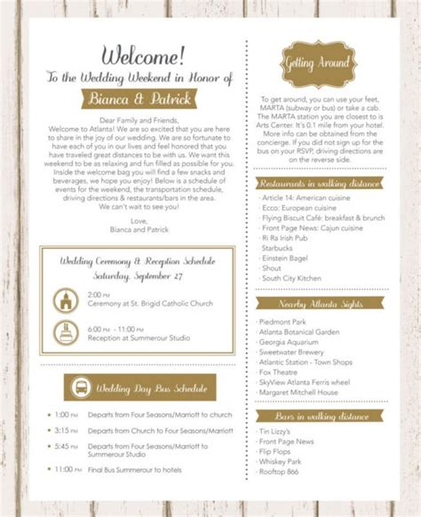 wedding template excel psd indesign