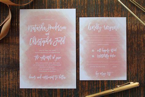 soft wedding invitation card design wedding