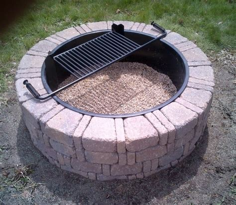 Image Of Block At Menards Menards Fire Pit Fire Pit Ideas Menards Firepit