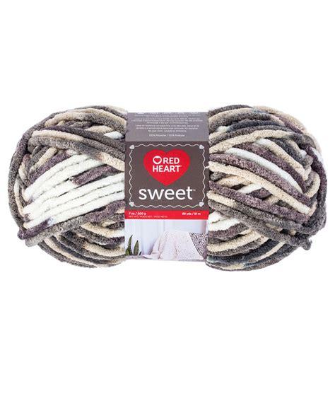 Sweet Redheart sweet yarn