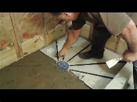 How To Install Shower Pre Slope   Step By Step   D.I.Y