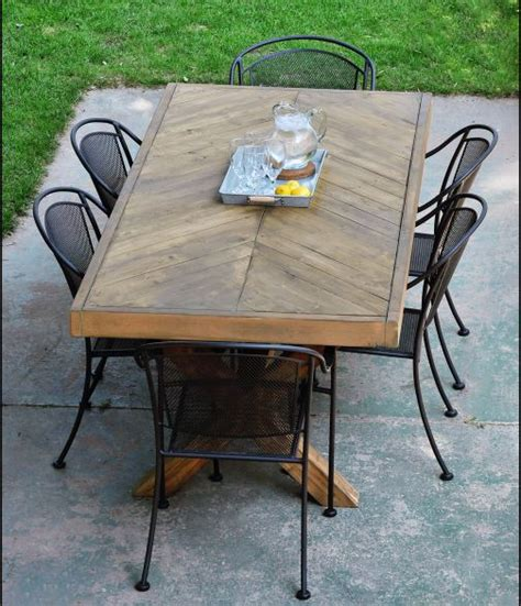 Patio Table Plans Diy 12 Diy Outdoor Table You Can Build Easily Home And Gardening Ideas