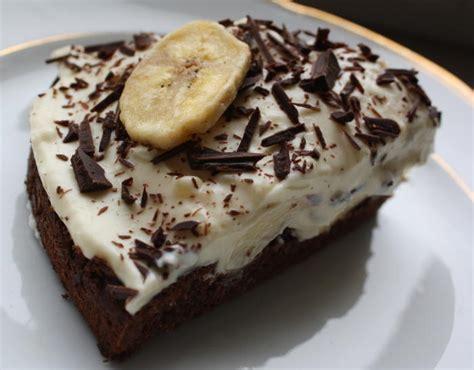 kuchen banane bananen schoko kuchen
