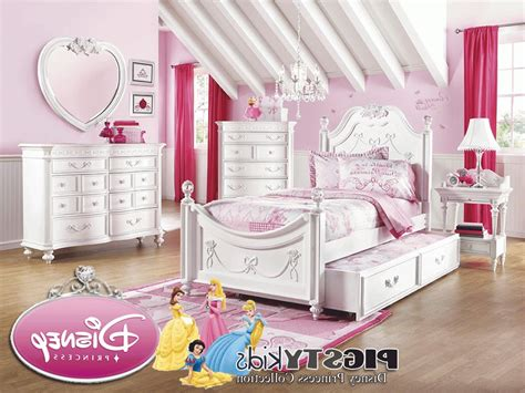 rooms to go computer disney princess white 3 pc full poster bed beds colors
