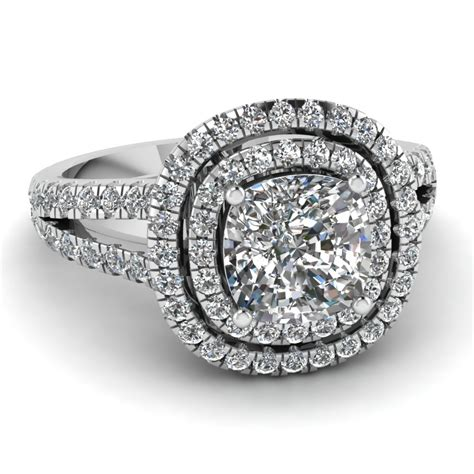 cushion cut gold cushion cut engagement rings
