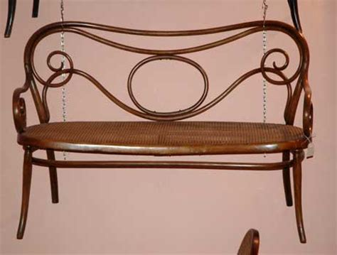 divanetto thonet antiquariato castellani antiquari in cortona dal 1919