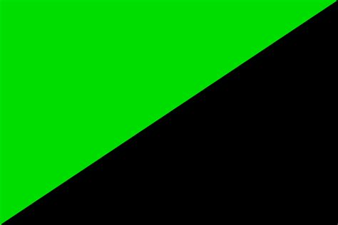 Flag Black white and black flag with green writing www pixshark
