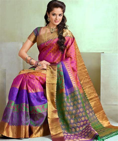 latest wedding sareesbuy south indiantraditional silk buy online bairavi traditional silk sarees btss 7242