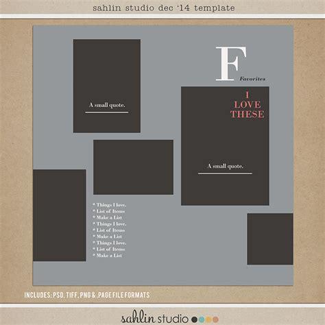 free digital templates free digital scrapbooking template december 2014 sahlin studio digital scrapbooking designs