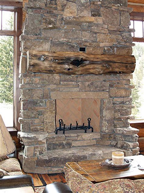 pictures of rock fireplaces fireplace rockwork hackbarth construction