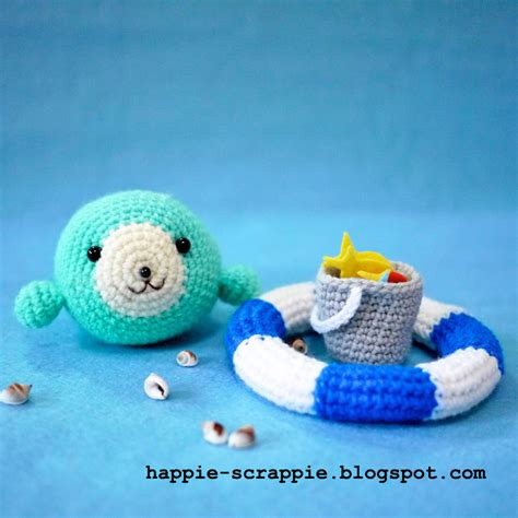 pattern html float happiness is scrappy amigurumi pattern baby seal learns