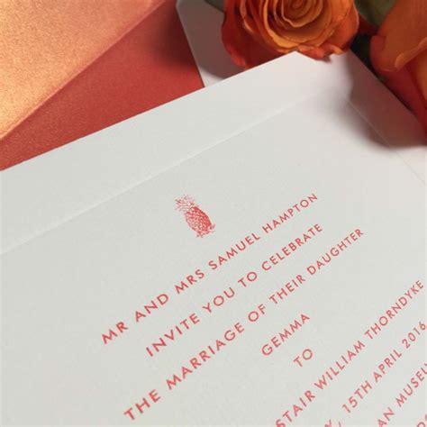 pineapple wedding invitations pineapple wedding invitations wedding stationery